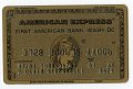 View American Express Credit Card -- Expires 06/83 digital asset number 0