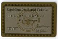 View Republican Presidential Task Force Membership Card -- Issued to V. Clain Stefanelli digital asset number 0