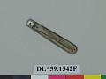 View liner, knife; knife, part of digital asset number 0