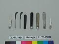 View spring, knife; knife, part of digital asset number 2