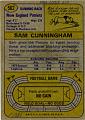 View Sam Cunningham Football Card digital asset: Football card, Sam Cunningham