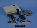 View Nintendo Entertainment System Video Game Console digital asset: Nintendo Entertainment System, Control Deck, Controllers, and Game Cartridge