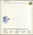 View Blue Angel Jazz Club: Jazz at Pasadena '69, Volume II digital asset number 0