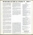 View Blue Angel Jazz Club: Jazz at Pasadena '69, Volume II digital asset number 1