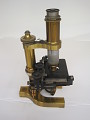 View Microscope digital asset: Bausch & Lomb microscope, side view