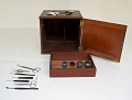 View Microscope digital asset: Dissecting microscope case and accessories