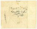 View Letter, 1840 digital asset number 2