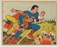 View Trading Card, Gum Inc. Superman No. 26 digital asset: Superman card - Log Jam Peril