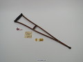 View Crutch, patent model digital asset number 1