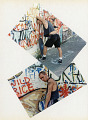 View Street Survival scrapbook digital asset: Skateboard scrapbook page 30