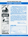 View Street Survival scrapbook digital asset: Skateboard scrapbook page 59