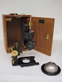 View Microscope digital asset: Microscope and case
