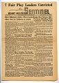 View newspaper, Heart Mountain Sentinel Vol. III No. 45, Heart Mountain, 11/04/1944 digital asset number 0