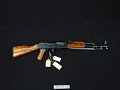 View Chinese AKM Type 56 Automatic Rifle with Folding Bayonet digital asset number 0