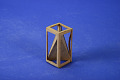 View Geometric Model by E. Summerstones, a Student of A. Harry Wheeler, Irregular Tetrahedron in Skeleton of a Square Prism digital asset: Geometric Model by A. Harry Wheeler, Irregular Tetrahedron in Frame