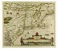 View Novi Belgii, Novaeque Angliae nec non partis Virginiae Tabula... digital asset number 4