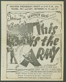 View <i>This is the Army</i> movie program digital asset number 1