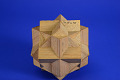 View Geometric Model by Lois M. Parker, a Student of A. Harry Wheeler, Union of Three Cubes digital asset: Geometric Model by Lois M. Parker, a Student of A. Harry Wheeler, Compound of Three Cubes
