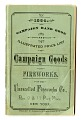 View Trade Catalog, Unexcelled Fireworks Company, 1884 digital asset number 0