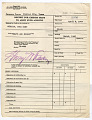 View receipt for credits made to Alien Fund Account, Crystal City, 04/04/1946 to 06/10/1947 digital asset number 3
