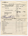 View receipt for credits made to Alien Fund Account, Crystal City, 04/04/1946 to 06/10/1947 digital asset number 10