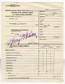 View receipt for credits made to Alien Fund Account, Crystal City, 04/04/1946 to 06/10/1947 digital asset number 11