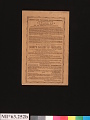 View Jenny Lind Concert Program, October 19, 1850 digital asset number 3