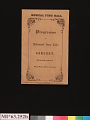 View Jenny Lind Concert Program, October 19, 1850 digital asset number 4