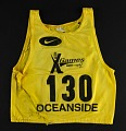 View Race bib worn by George Orton at the X-Games digital asset: Race bib worn by George Orton at X-Games