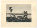 View Egypt: Dakka, The Temple digital asset: Rotogravure, recto, Egypt: Dakka, The Temple, 1927