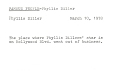 View Phyllis Diller's Gag File digital asset number 2