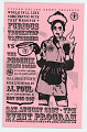 View Program for the roller derby bout between the Furious Truck Stop Waitresses vs. The Phoenix Smash Squad digital asset number 0