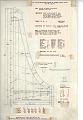 View Italian Single Manual Harpsichord digital asset: Technical drawing of Italian Single Manual Harpsichord, prepared by W. R. Dowd, 1989