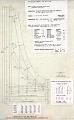 View De Quoco Single Manual Harpsichord digital asset: Technical drawing of De Quoco Single Manual Harpsichord, prepared by W. R. Dowd, 1989