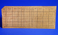 View Punch Card Used at the Southern Railway Company digital asset: Punch Card Used at the Southern Railway Company
