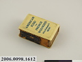 View American Fund for French Wounded matchbox cover digital asset number 2
