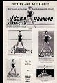 View <i>Damn Yankees</i> digital asset: Playbill - Damn yankees