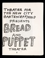 View Bread and Puppet Theater digital asset: Bread and Puppet Theater program