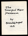 View The Sumpul River Massacre by Bread and Puppet digital asset: Bread and Puppet Theater program