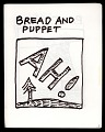 View Bread and Puppet, Ah! digital asset: Bread and Puppet Theater program