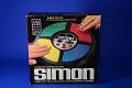 View Simon Electronic Game, 1978 digital asset: Box for the Video Game Simon, Top
