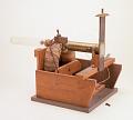 View J.J. Thompson's positive ray apparatus, replica of Cavendish Lab apparatus digital asset: Replica of J.J. Thomson's positive ray apparatus