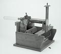 View J.J. Thompson's positive ray apparatus, replica of Cavendish Lab apparatus digital asset: Replica of J.J. Thomson's positive ray apparatus (B&W)