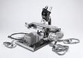 View emulsion scanning microscope digital asset: Emulsion-scanning microscope (B&W)