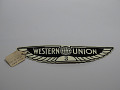 View Western Union cap badge #3 digital asset number 0