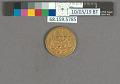 View 1 Mohur, Hindustan, 1622 - 1623 digital asset: before treatment