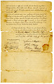 View Samuel Hopkins Patent License, Vermont, 1790 digital asset number 2