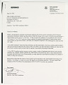 View <I>The Globe and Mail</I> Y2K Documents digital asset: Y2K documentation, business letter