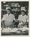 View Two African American WWII Nurses' Aides digital asset: WWII era African American Nurses