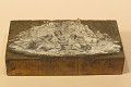 """View Engraved wood block """"Indians Pounding Acorns"""" digital asset: Indians Pounding Acorns"""